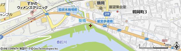 大分県佐伯市鶴岡町星宮区周辺の地図