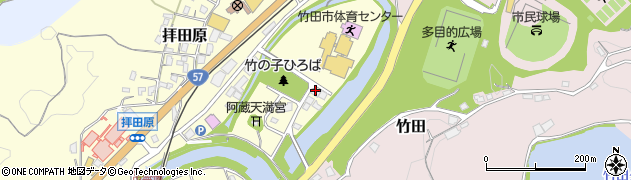 大分県竹田市玉来1周辺の地図
