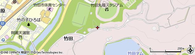 大分県竹田市竹田1281周辺の地図