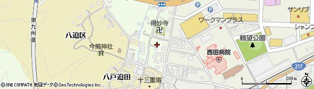 大分県佐伯市稲垣515-1周辺の地図