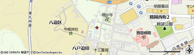 大分県佐伯市稲垣517周辺の地図