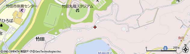 大分県竹田市竹田1259周辺の地図