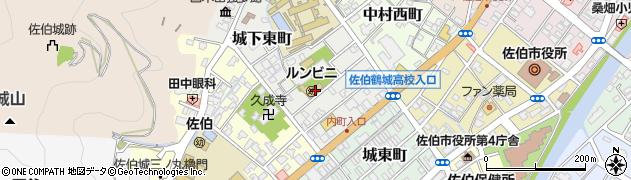 大分県佐伯市城下東町5-4周辺の地図
