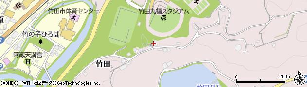 大分県竹田市竹田1275周辺の地図