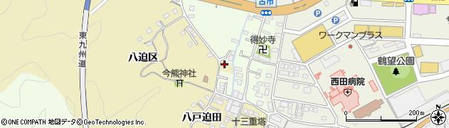 大分県佐伯市上岡1895周辺の地図
