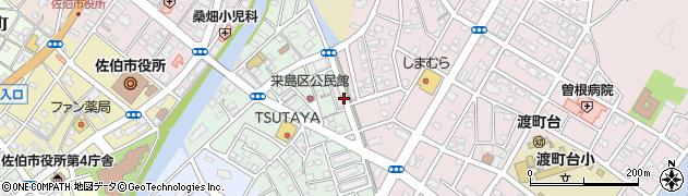 大分県佐伯市来島町12周辺の地図