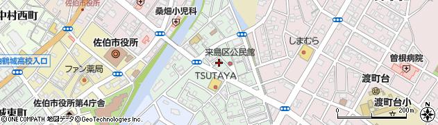 大分県佐伯市来島町9周辺の地図