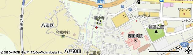 大分県佐伯市稲垣513周辺の地図