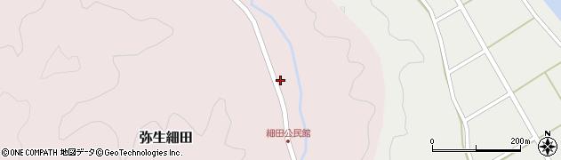 大分県佐伯市弥生大字細田1130周辺の地図