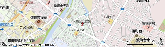 大分県佐伯市来島町10-6周辺の地図