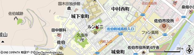 大分県佐伯市城下東町5周辺の地図