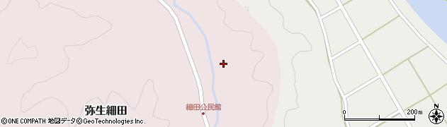 大分県佐伯市弥生大字細田1582周辺の地図