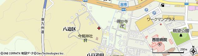 大分県佐伯市上岡1897周辺の地図