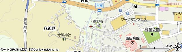 大分県佐伯市稲垣508周辺の地図