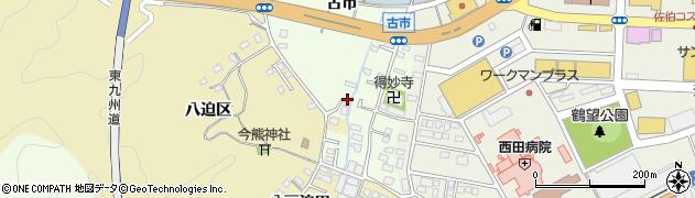 大分県佐伯市稲垣297周辺の地図