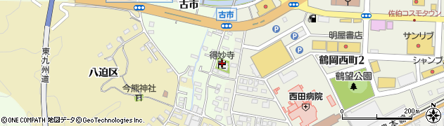 大分県佐伯市稲垣495周辺の地図