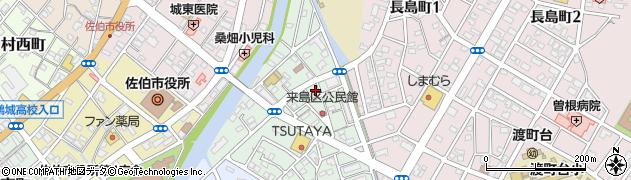 大分県佐伯市来島町7周辺の地図