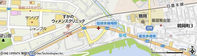 大分県佐伯市鶴望640周辺の地図