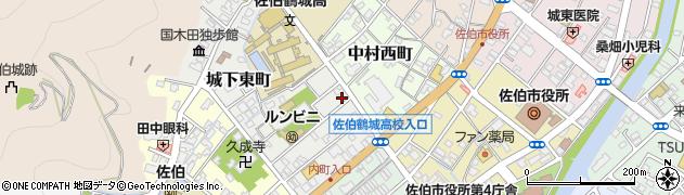 大分県佐伯市城下東町3-2周辺の地図