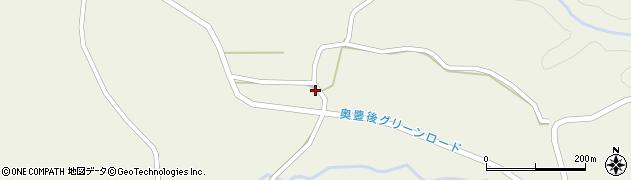 大分県竹田市今504周辺の地図