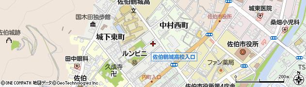 大分県佐伯市城下東町3-13周辺の地図