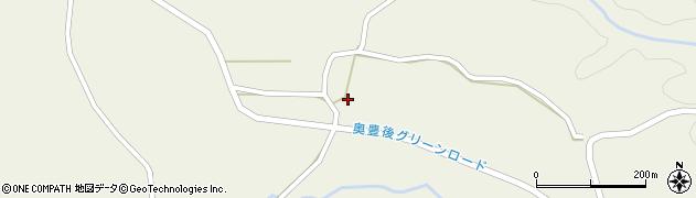 大分県竹田市今506周辺の地図