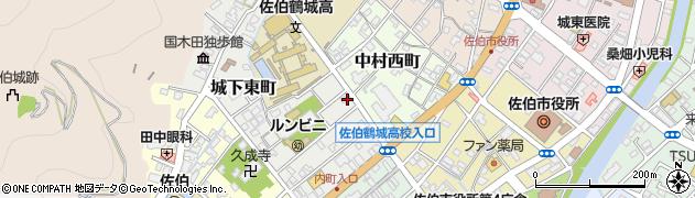 大分県佐伯市城下東町3-16周辺の地図