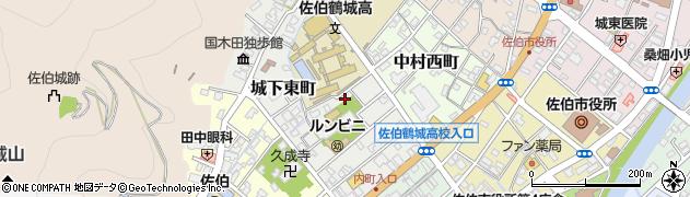 大分県佐伯市城下東町5-36周辺の地図