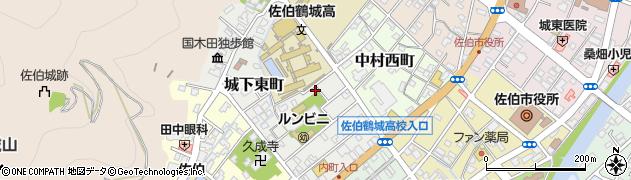 大分県佐伯市城下東町5-37周辺の地図