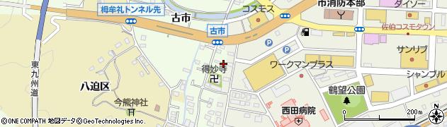 大分県佐伯市稲垣486周辺の地図