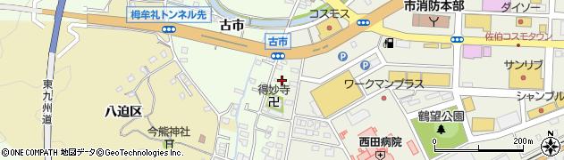 大分県佐伯市稲垣485周辺の地図
