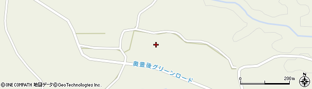 大分県竹田市今宮園周辺の地図