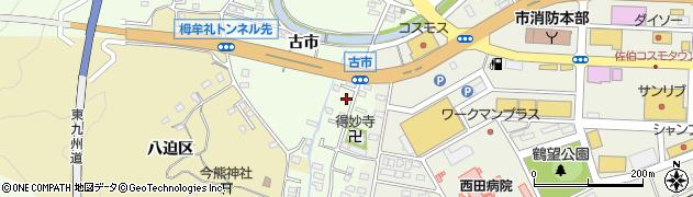 大分県佐伯市稲垣481周辺の地図