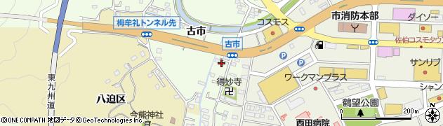 大分県佐伯市稲垣479周辺の地図