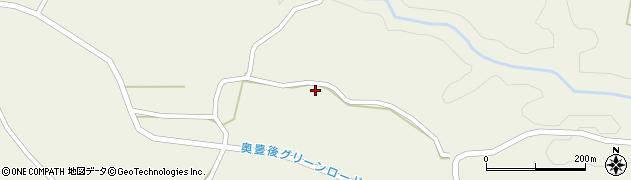 大分県竹田市今468周辺の地図