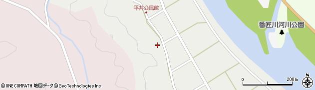 大分県佐伯市弥生大字平井419周辺の地図
