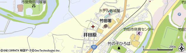大分県竹田市拝田原323周辺の地図