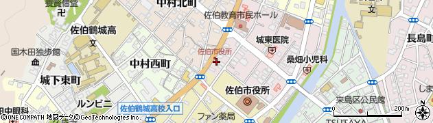 大分県佐伯市中村東町5周辺の地図