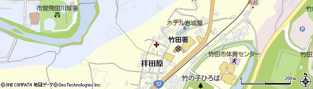 大分県竹田市拝田原330周辺の地図
