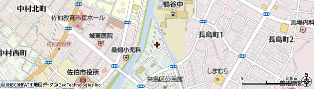 大分県佐伯市来島町4周辺の地図