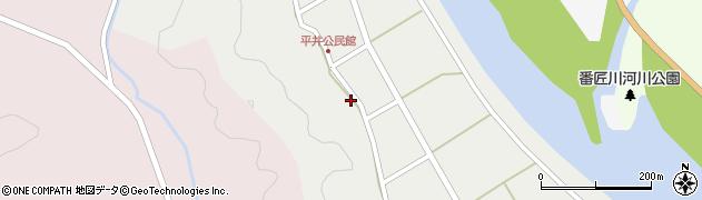 大分県佐伯市弥生大字平井415周辺の地図