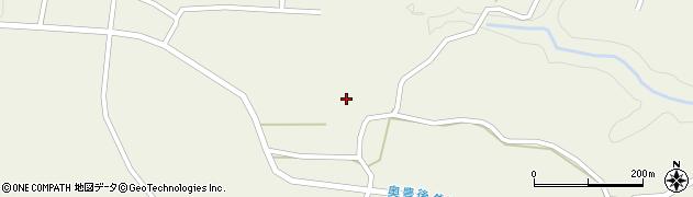 大分県竹田市今397周辺の地図