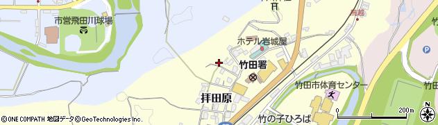 大分県竹田市拝田原332周辺の地図