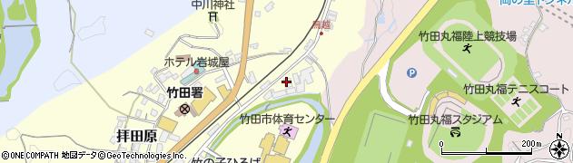 大分県竹田市拝田原189周辺の地図