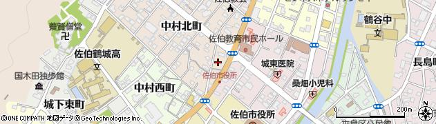 大分県佐伯市中村北町1周辺の地図