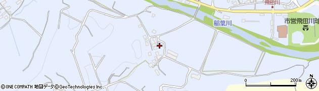 大分県竹田市飛田川1337周辺の地図