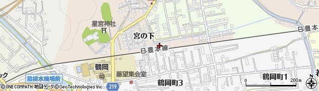 大分県佐伯市鶴望2331周辺の地図