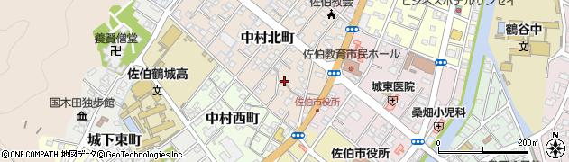 大分県佐伯市中村北町2周辺の地図
