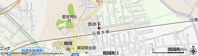 大分県佐伯市鶴望2398周辺の地図