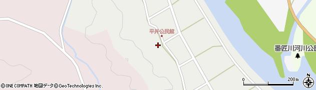 大分県佐伯市弥生大字平井413周辺の地図